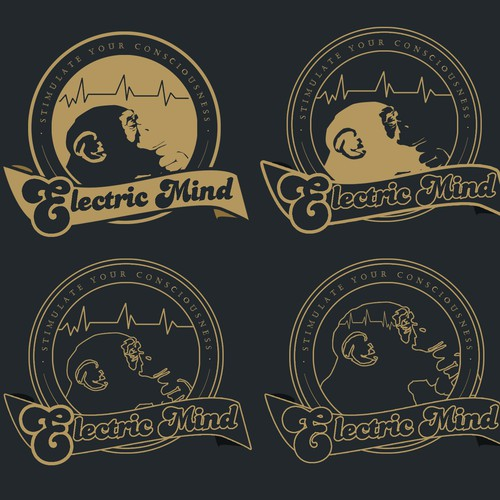Create a unique logo for Electric Mind, who can create a stimulating logo that pops?!