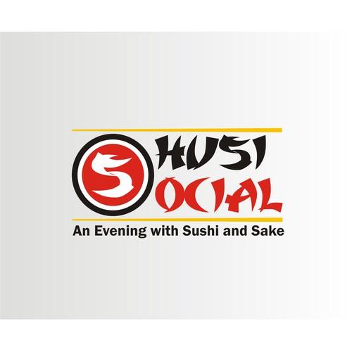 Sushi Social Logo Design