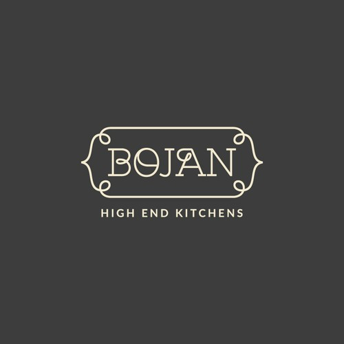 Logo Concept for Bojan - High End Kitchens