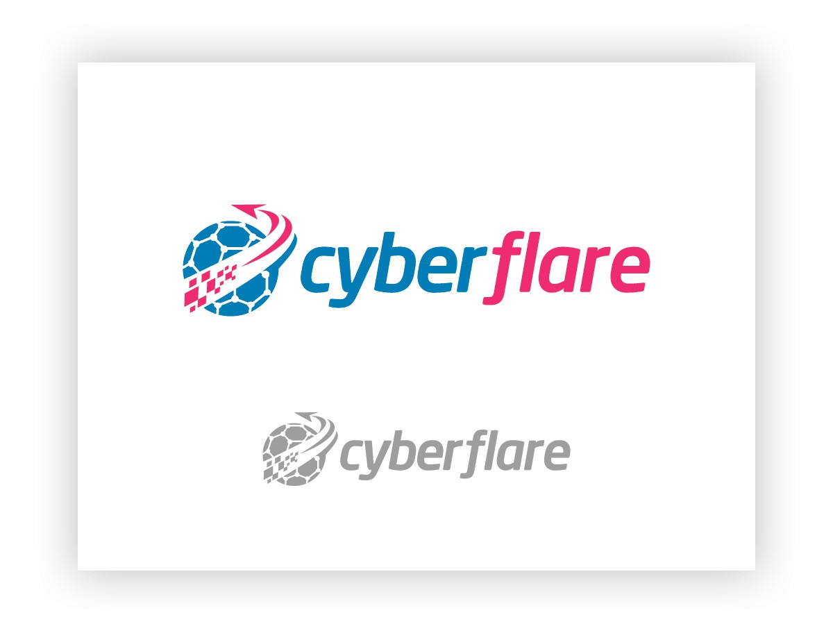Logo for CyberFlare, an online digital privacy tool