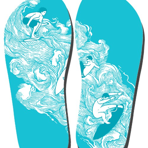 Create an awesome FlipFlop design for FlyingFlips.com