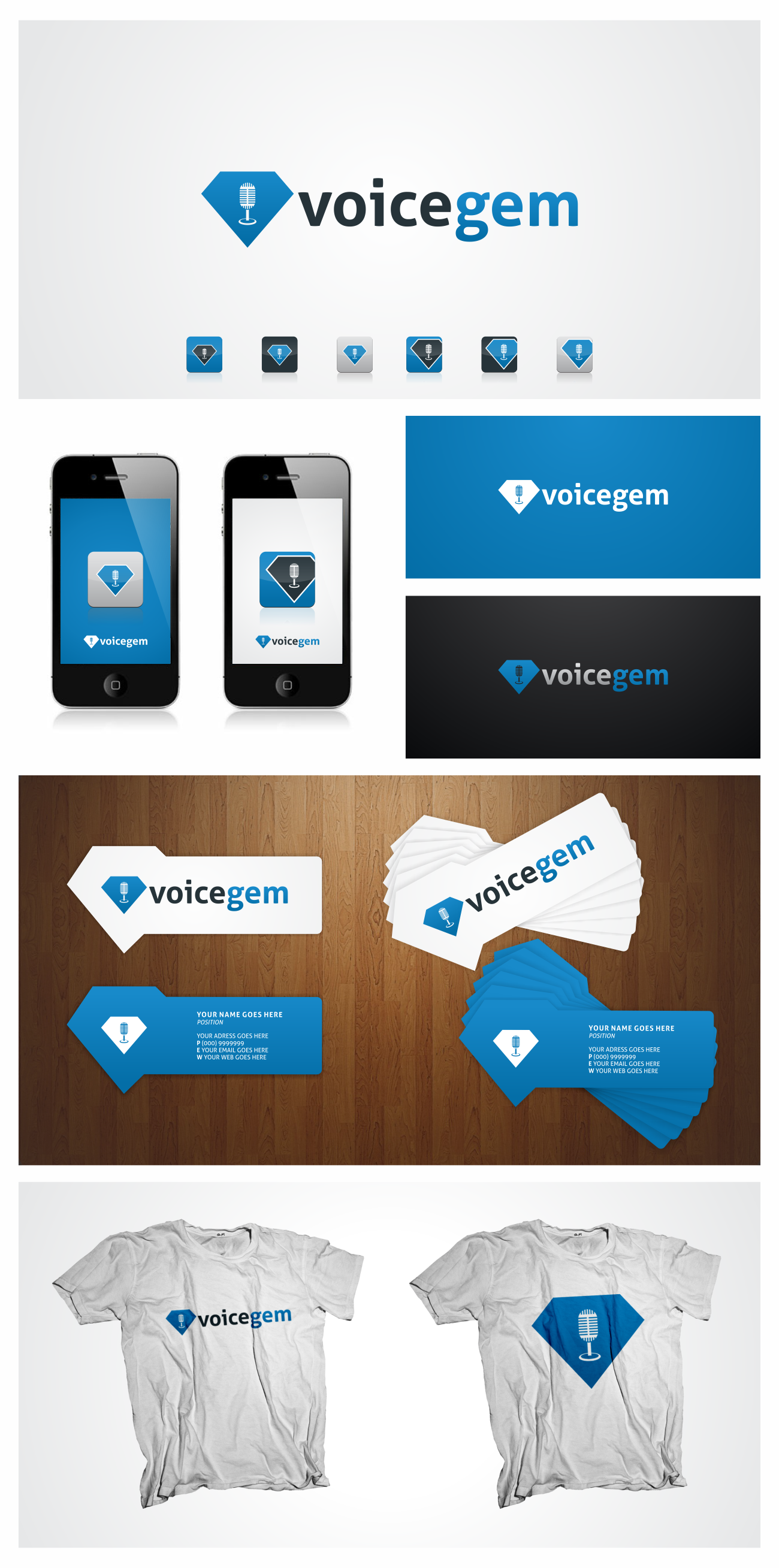 Logo/Icon for VoiceGem