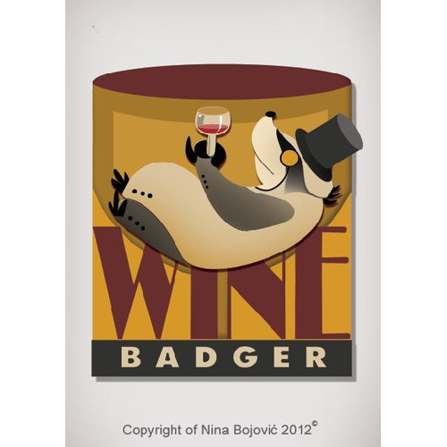 Wine label logo