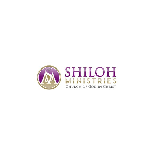 Sophisticated Logo for Shiloh Ministries church