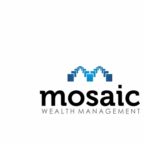 clean logo for mosaic