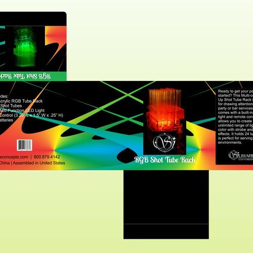 RGB Shot Tube Rack