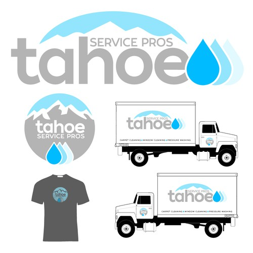 Logo for cleaning company in California
