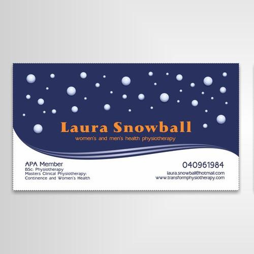 card snowball