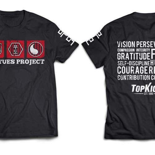 Create a capturing design to promote, educate and inspire others about our Virtues Project!