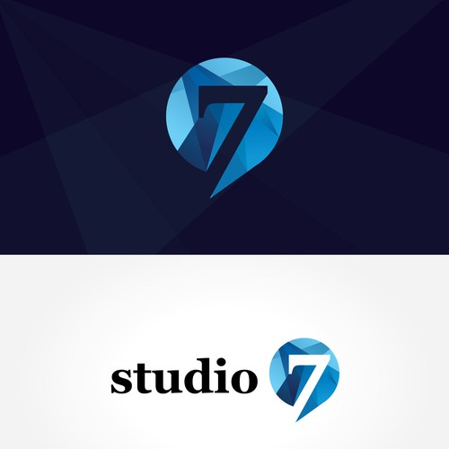 Studi7 Geometric Logo Design