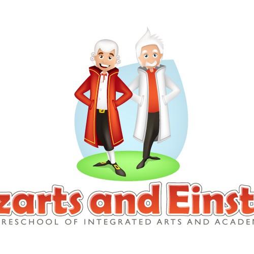 logo for Mozarts and Einsteins