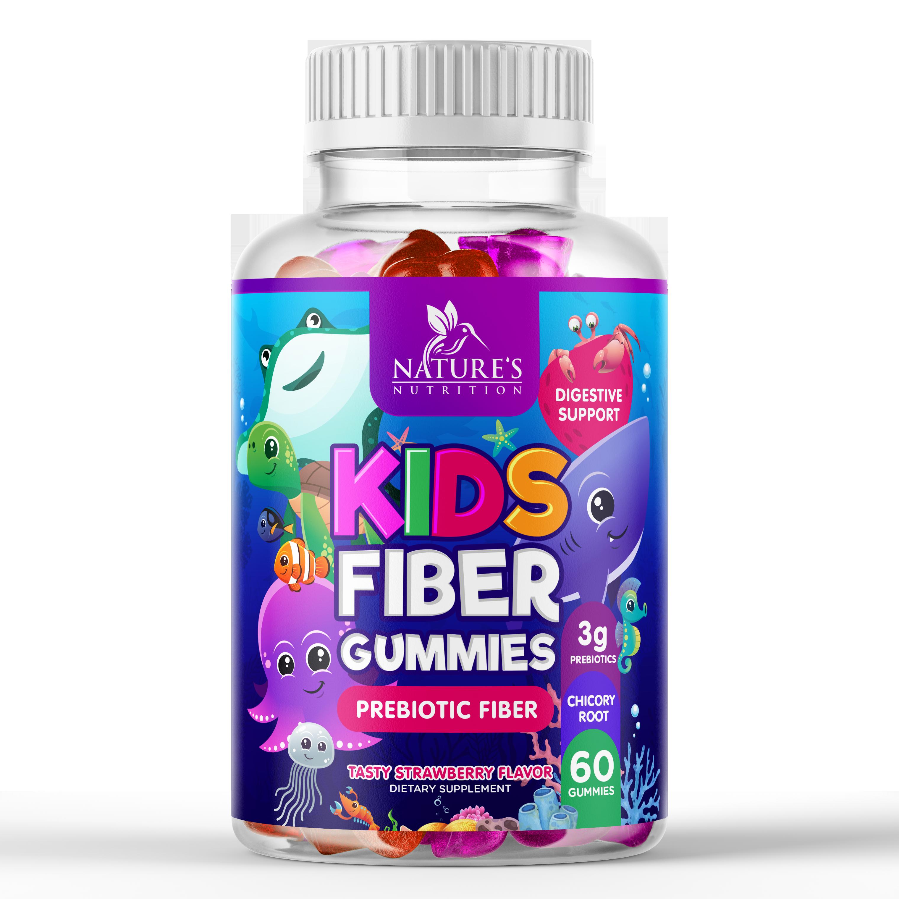 Cute Kids Fiber Gummies Design needed for Nature's Nutrition
