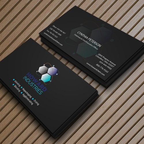 Business card for HOWARD INDUSTRIES