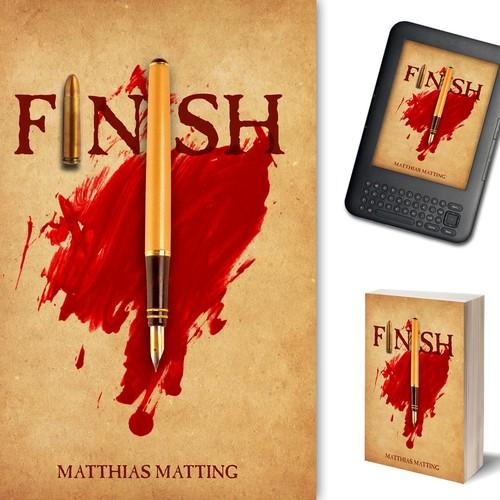 Finish book cover design