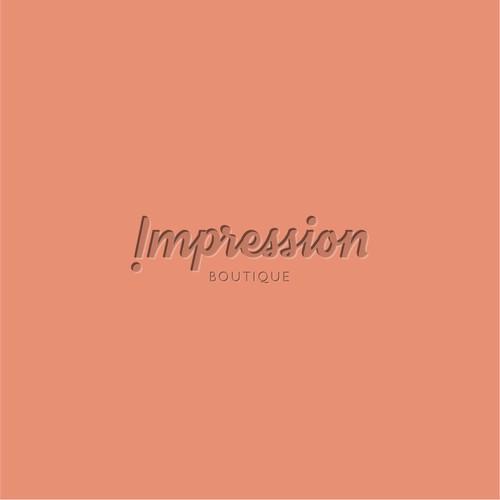 Logo design concept for a trendy boutique