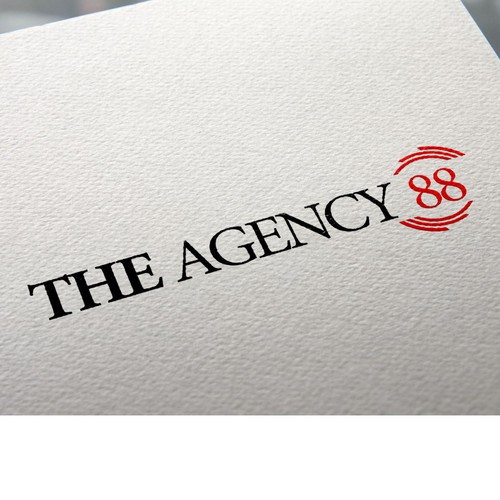 Luxurious logo for the agency 88