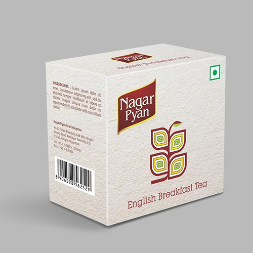 Imagination of your tea packaging design for Nagar Pyan