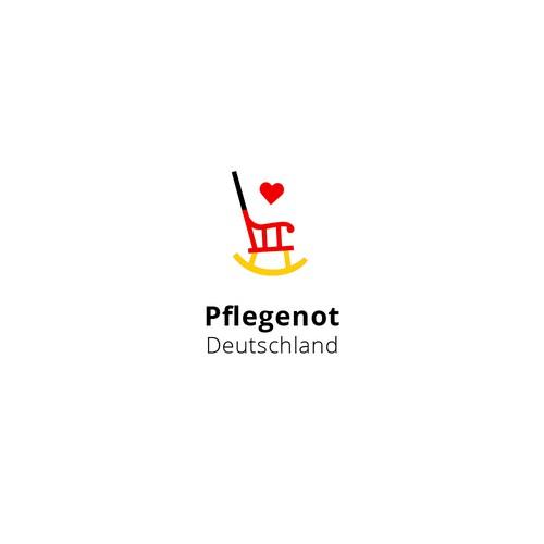 Logo Concept   Pflegenot Deutschland