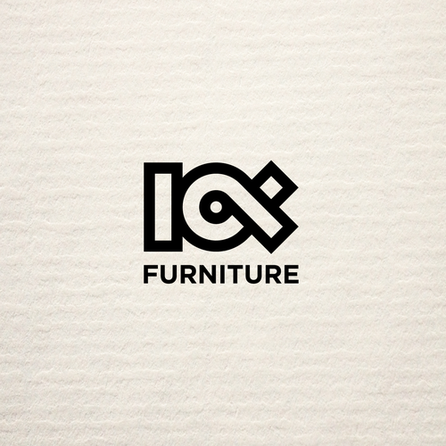 Bold logo for Sustainable Furniture Brand