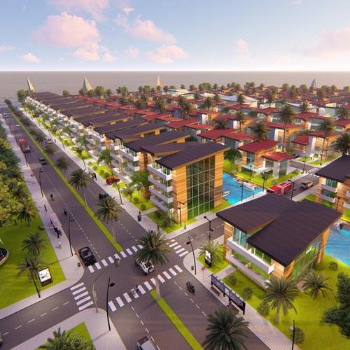 Visualization of an Urban Development Plan