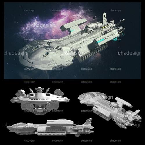 Create a starship design