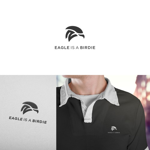 logo concept for EAGLE IS A BIRDIE