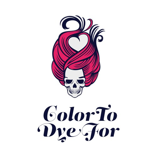 Color To Dye For - logo design