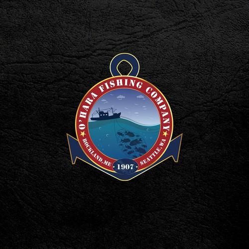O'Hara Fishing Company logo