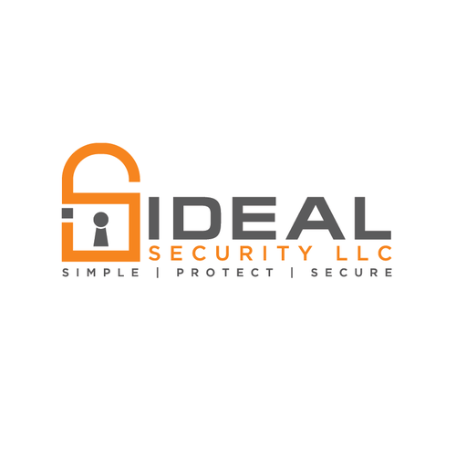 Design a safe, strong, professional logo for Ideal Security