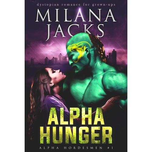 ''Alpha Hunger'' book cover