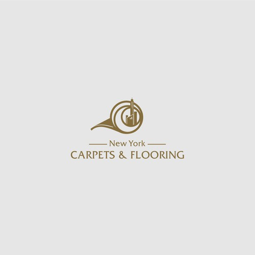 Logo design for carpet and flooring industry