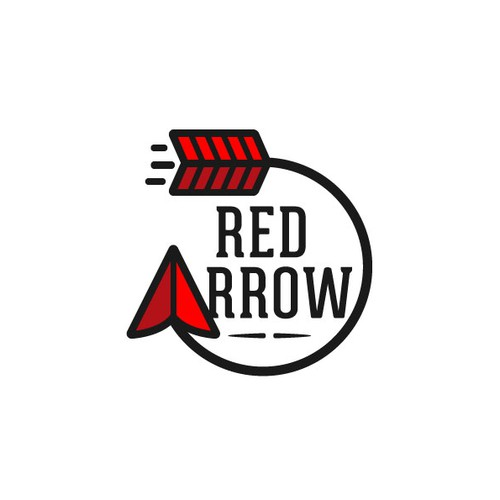 Create a new logo for Red Arrow an upcoming summer camp