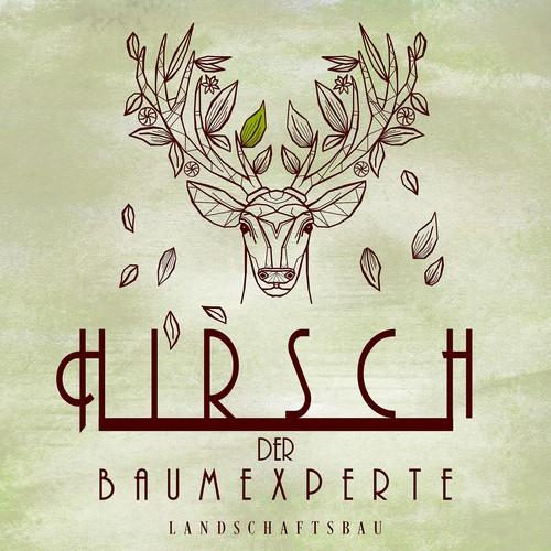 Firma Hirsch (= Baumexperten) sucht DAS Logo!