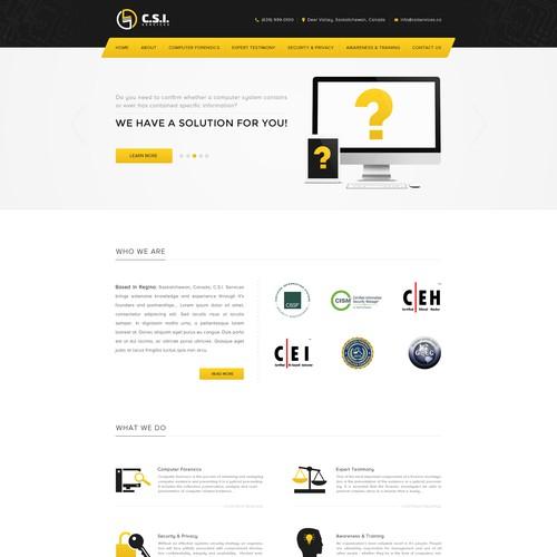 Security Company Website