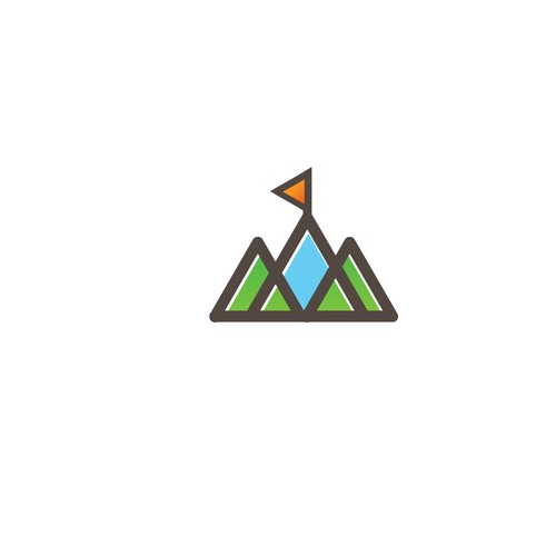 Logo concept for Purpose Adventures