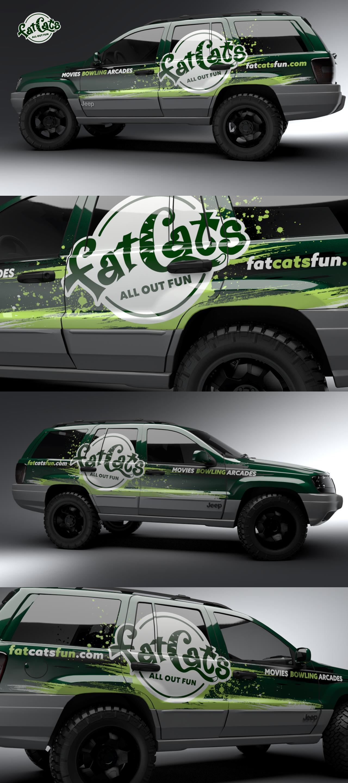 FatCats Car Wrap