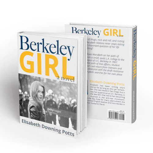 Berkeley Girl Book Cover Design