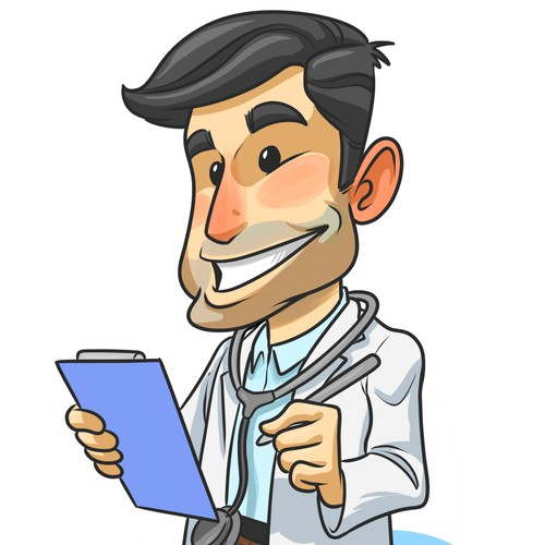 Mascot doctor for medical web