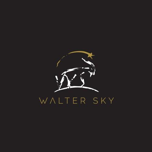 Logo for climbers clothes brand