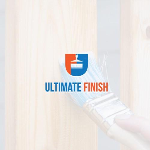 unique and elegant logo for Ultimate Finish