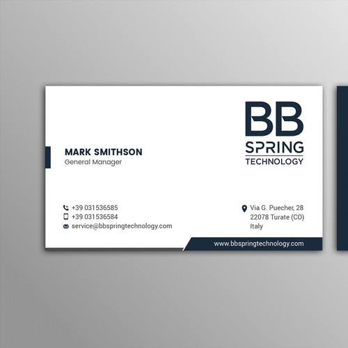 Make My Industrial Business Card !