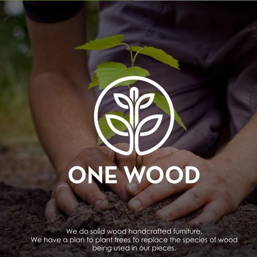 One wood