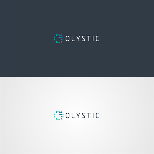 olystic logo design