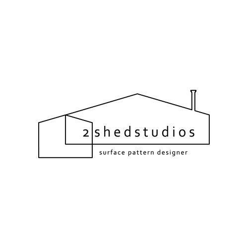 Logo design for a surface patter designer