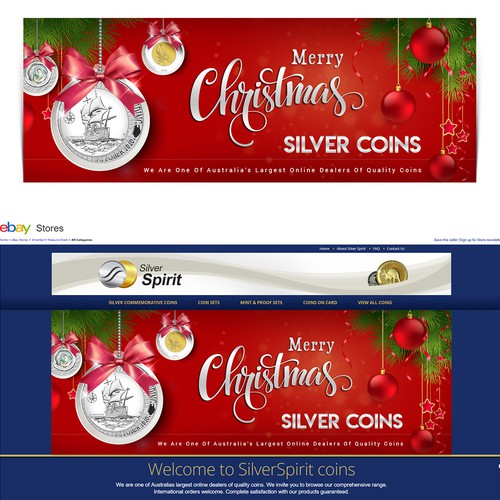 Christmas web slider