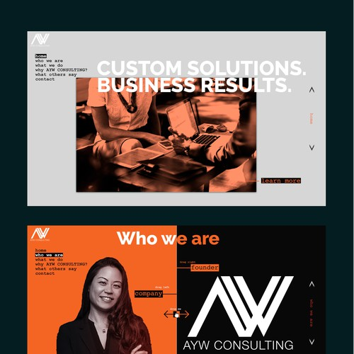 Site design for business