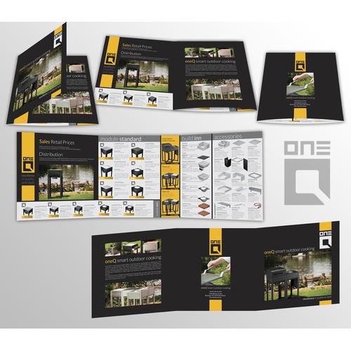 Brochure design for oneQ Deutschland
