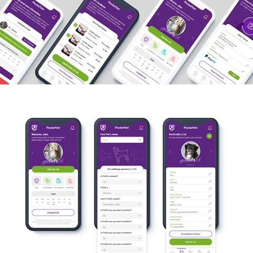 Online veterinary consultation App