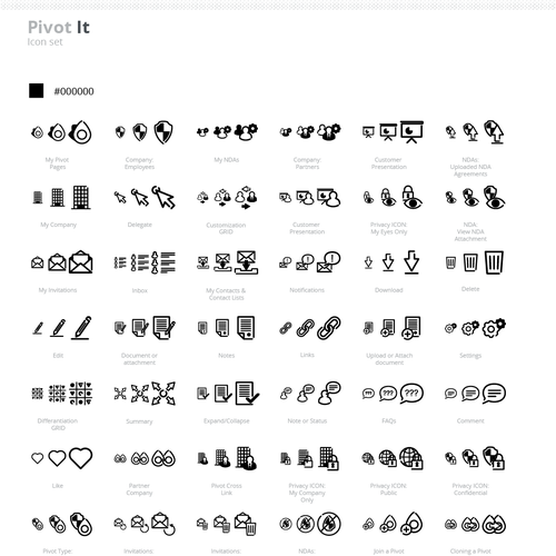 Multiple ICONs required for a web application
