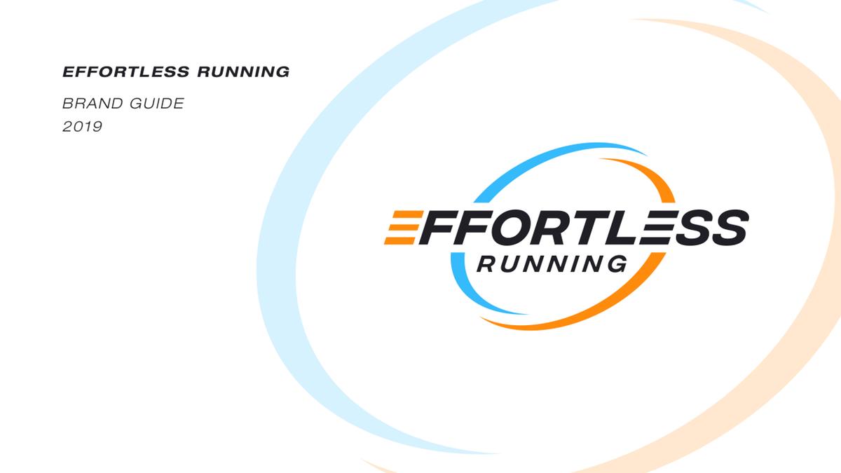 Effortless Running Logo Design